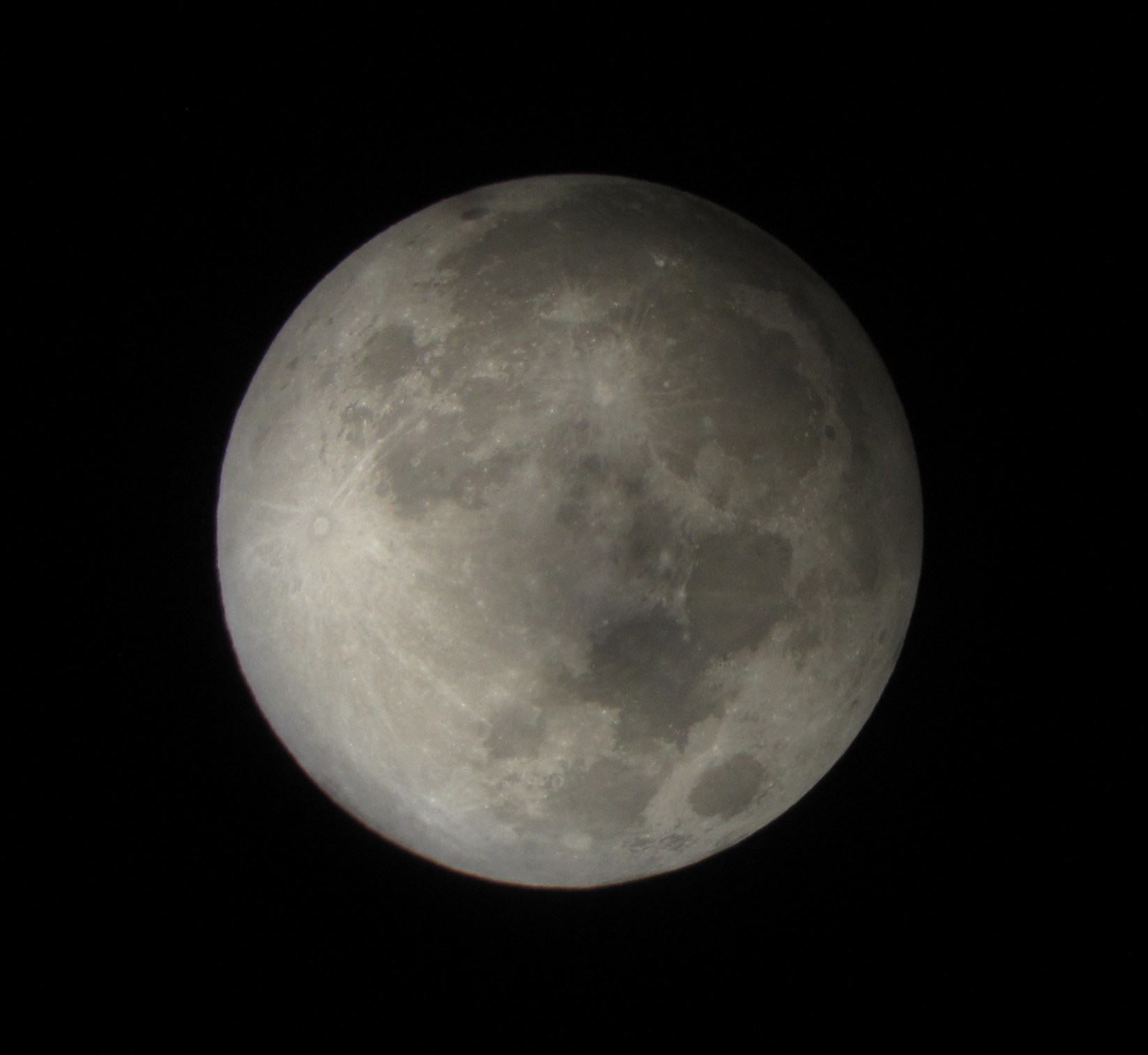 Penumbral Lunar Eclipse of 2012: David Matthews