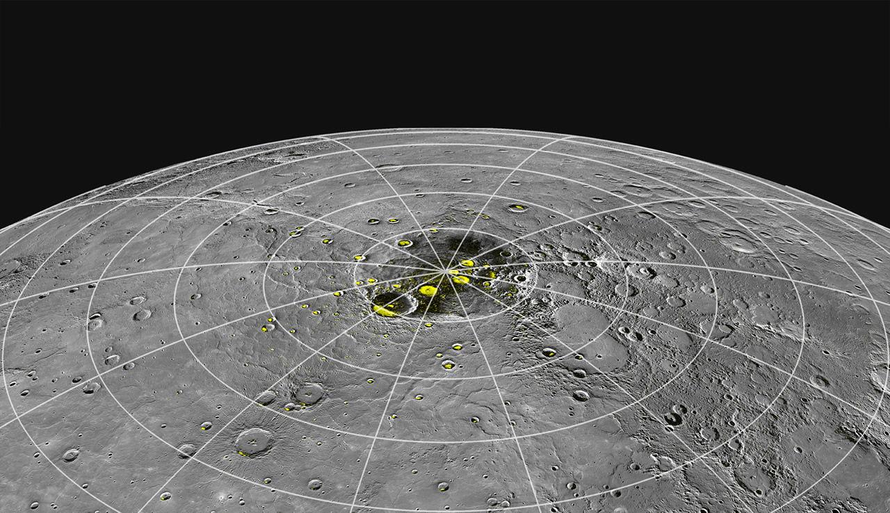 Mercury's North Polar Radar-Bright Regions