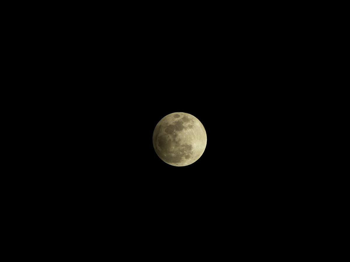 Penumbral Lunar Eclipse Over the Philippines #1