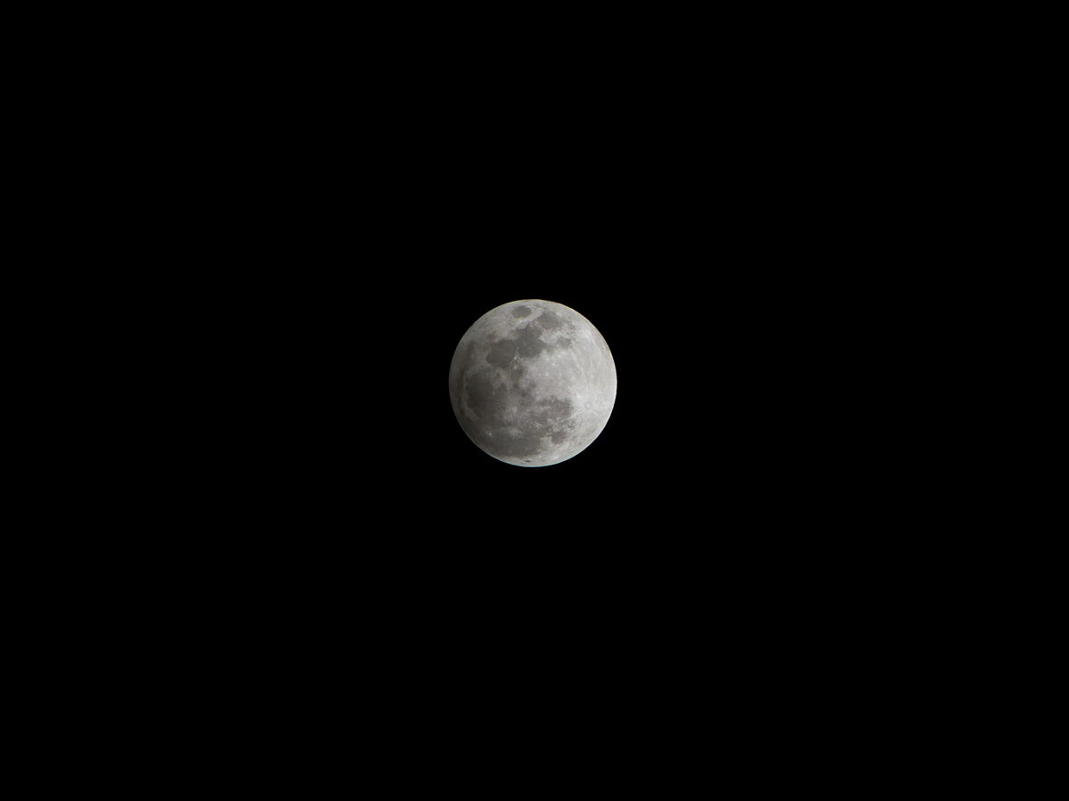 Penumbral Lunar Eclipse Over the Philippines #3