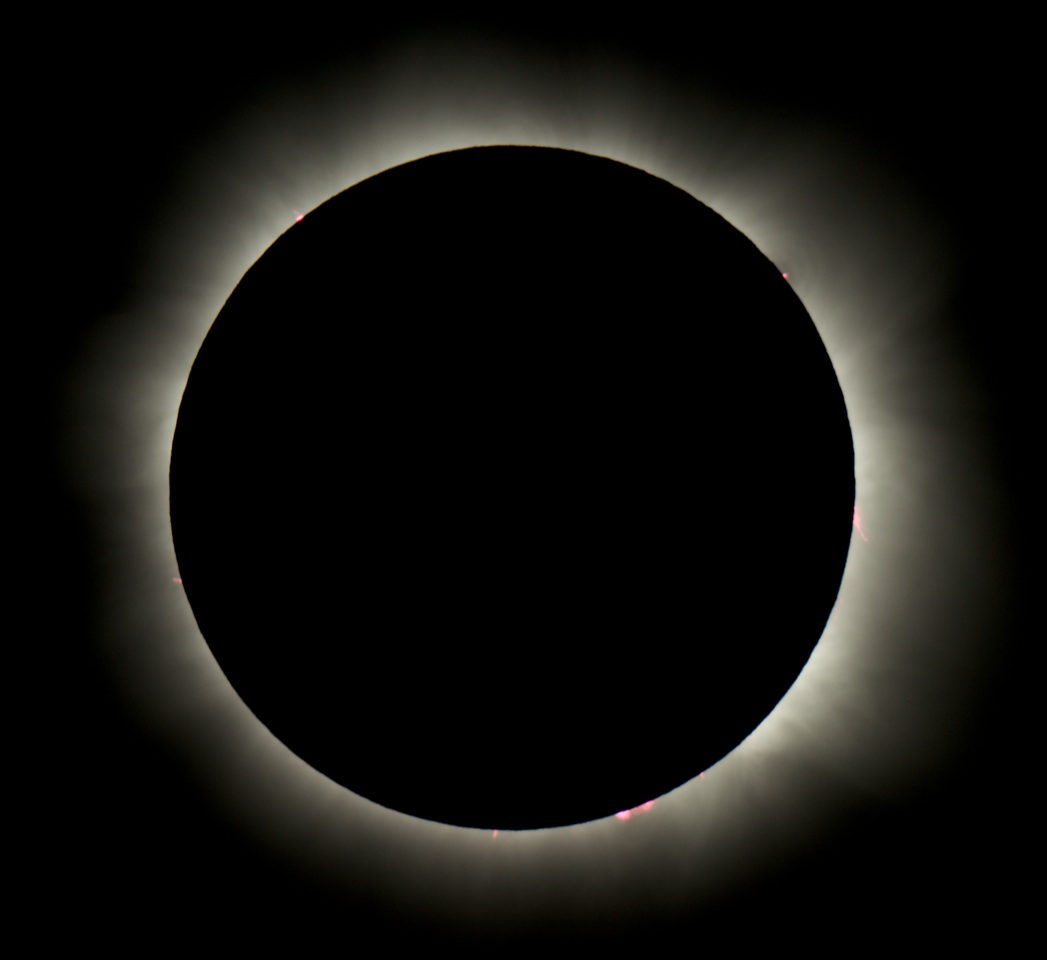 Total Solar Eclipse from Sea