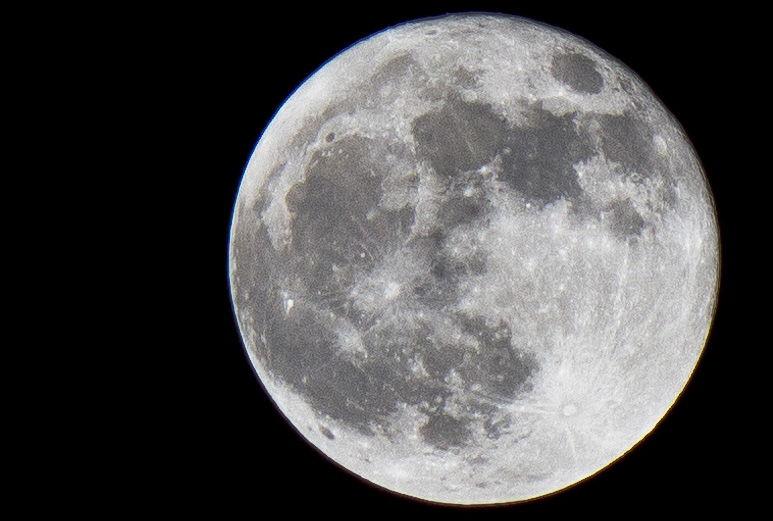 Full Moon Over Washington, DC
