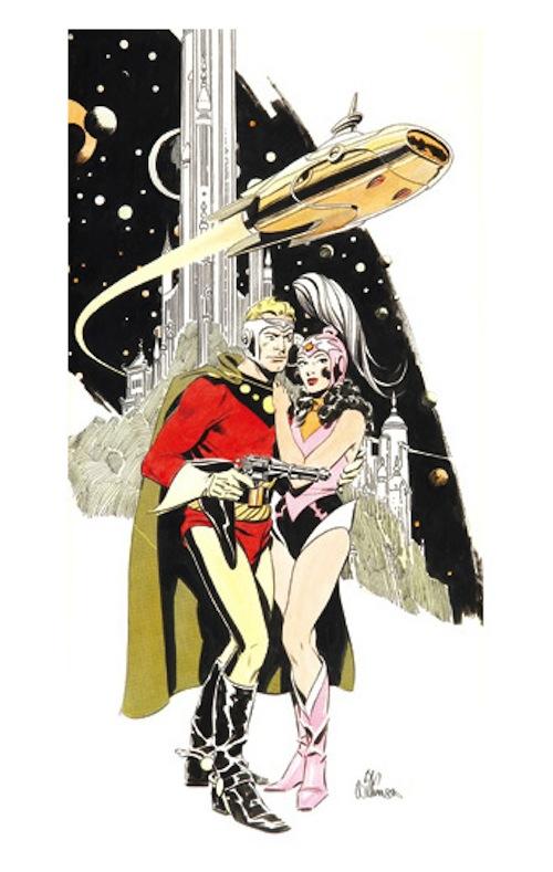 Top Ten Cosmic Superheroes