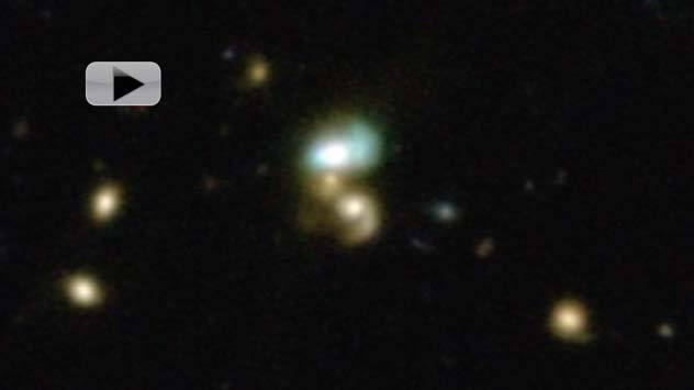 Green Bean Galaxies Blanched By Monster Black Holes | Video