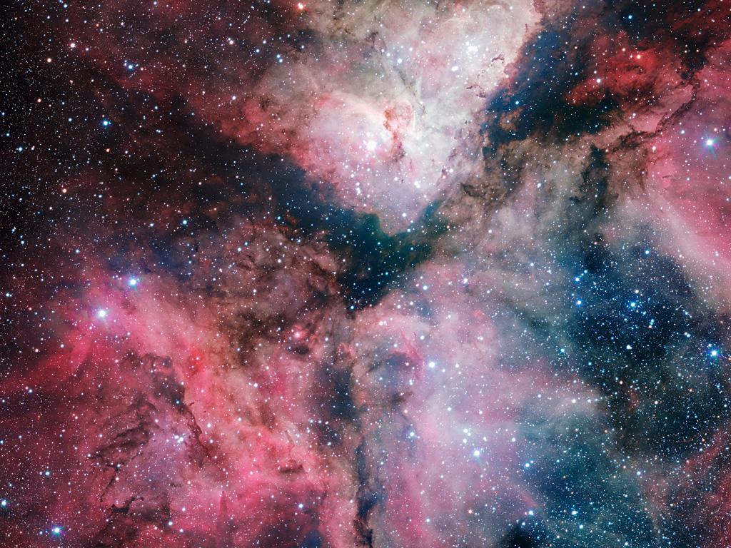 The Carina Nebula imaged by the VLT Survey Telescope