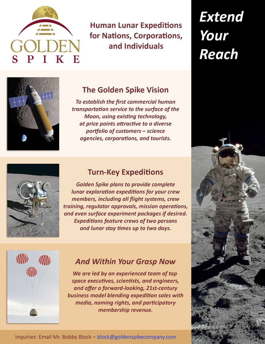 Golden Spike Flyer