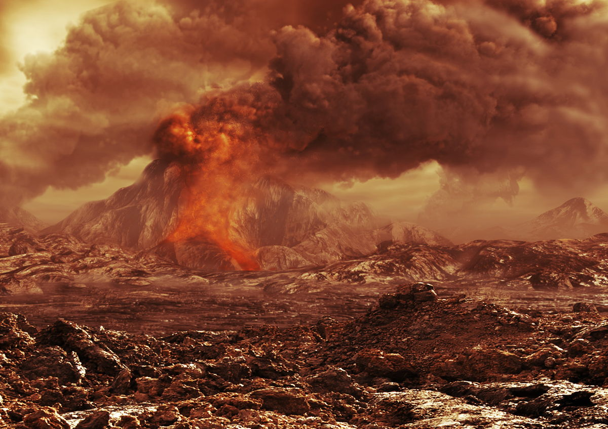 Active Volcanoes Revealed on Venus