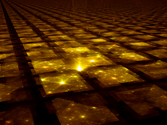 Space-time may stretch out to infinity. If so, then everything in our universe is bound to repeat at some point, creating a patchwork quilt of infinite universes.