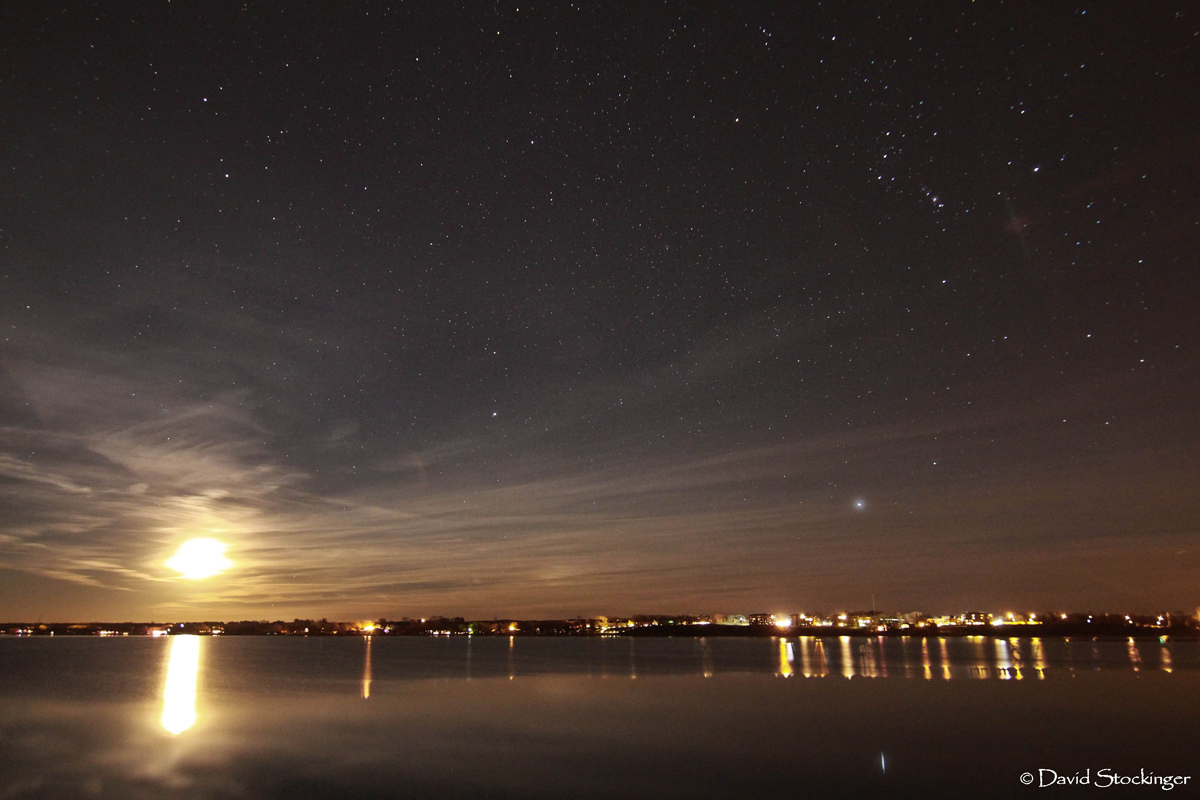 Night Sky Over Lake Okoboji, IA
