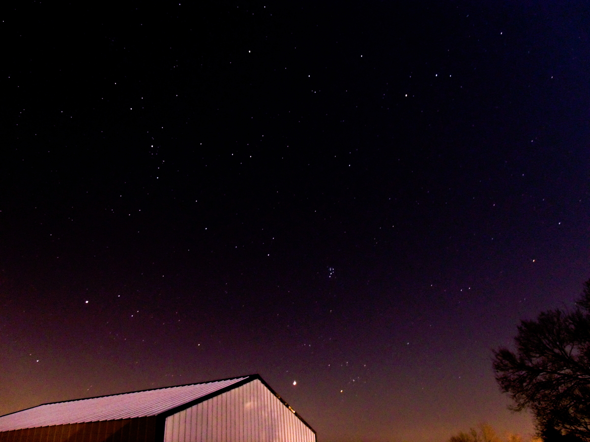 Night Sky Over Central Kentucky