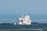 An Atlas 5 rocket blasts off on Dec. 11, 2012, beginning the Air Force's third X-37B classified space plane mission.
