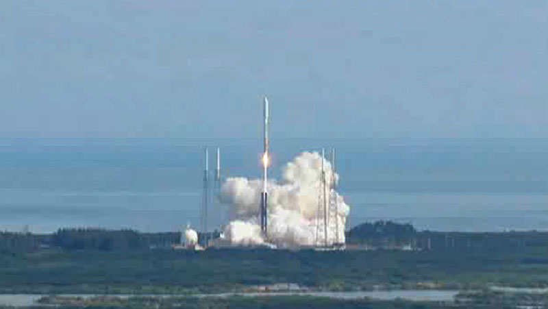 X-37B Space Plane Launches on Atlas 5
