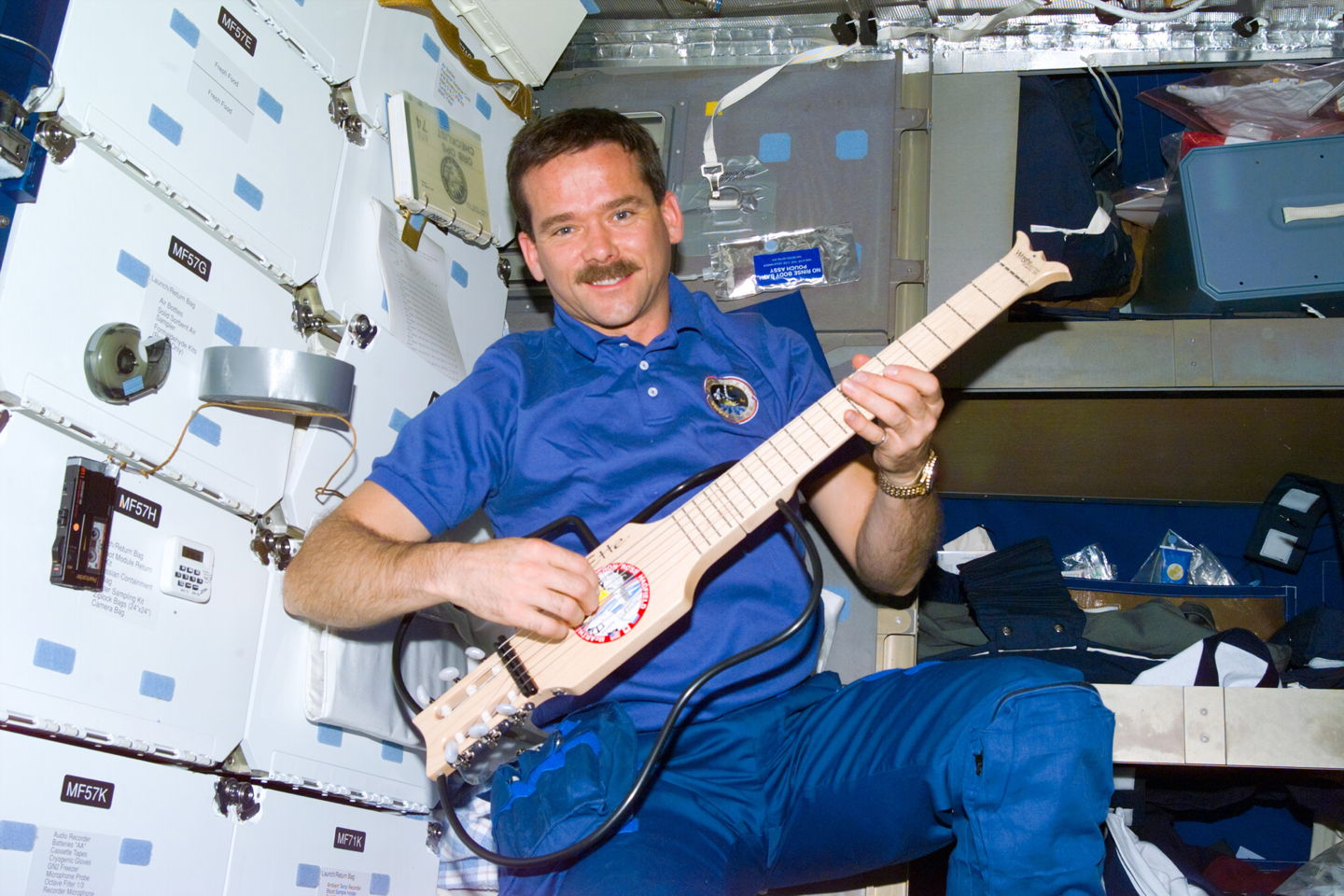 Canadian Astronaut Will Strum Christmas Carols in Space