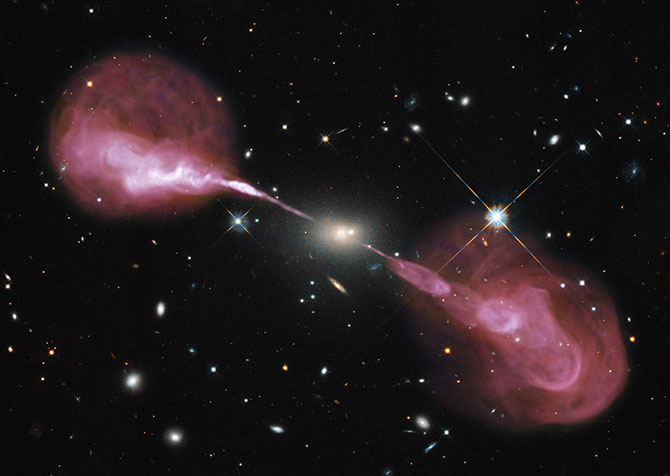 Surprise Radio Jets Revealed in Hercules A Galaxy