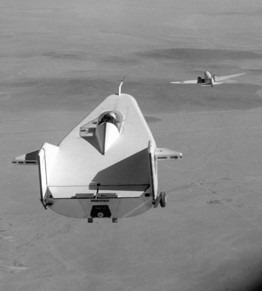 Space History Photo: M2-F1 in Tow
