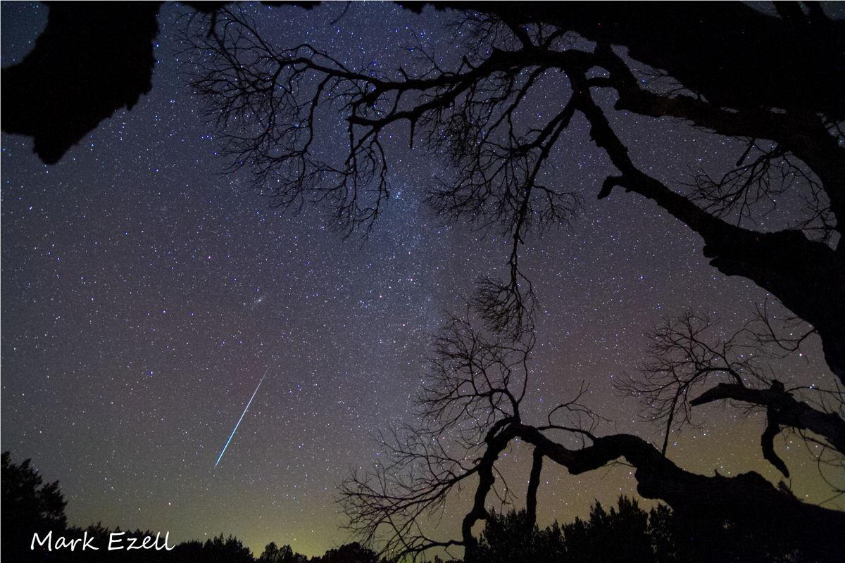 2012 Geminid Meteor Over Texas