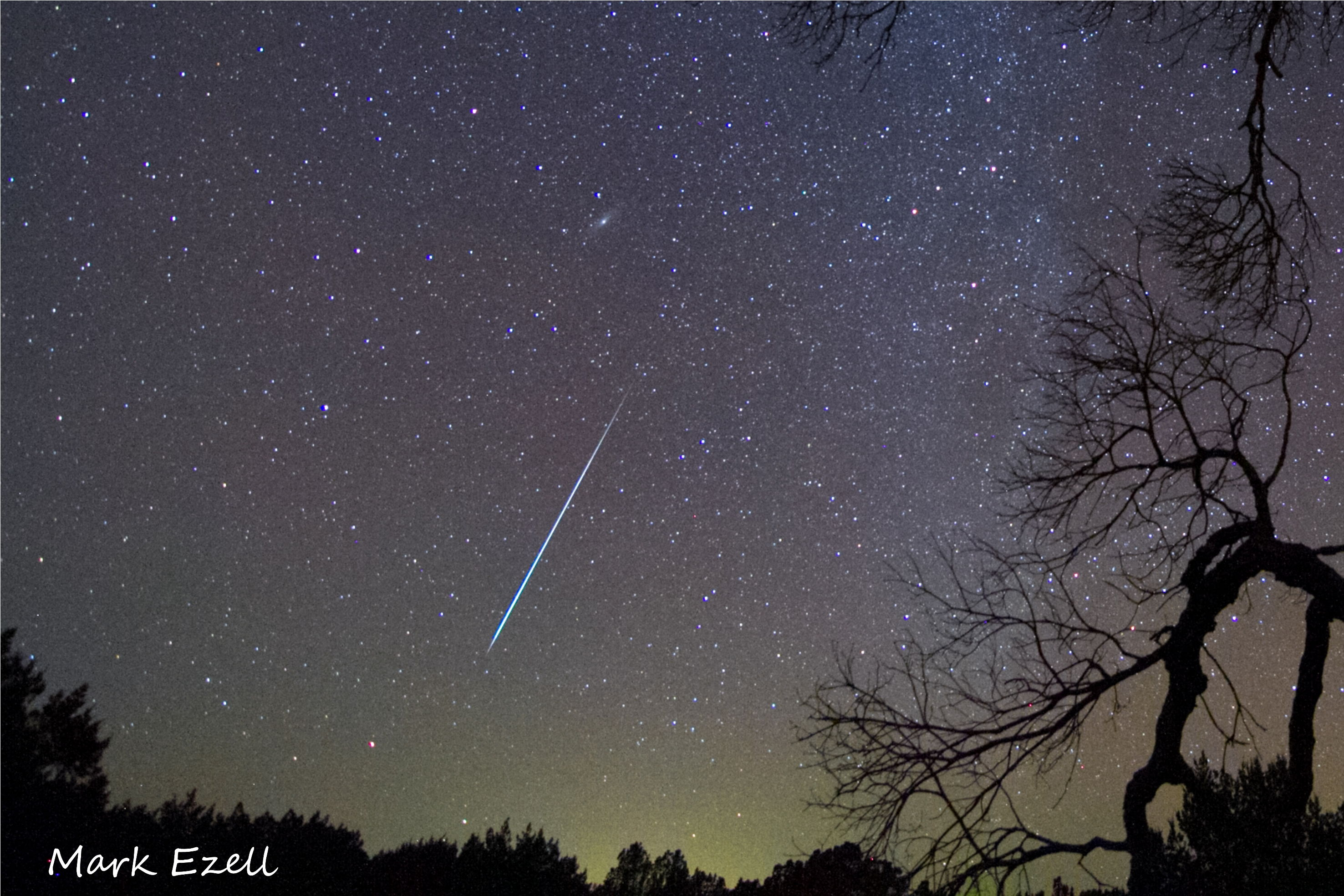 2012 Geminid Meteor Over Texas 2