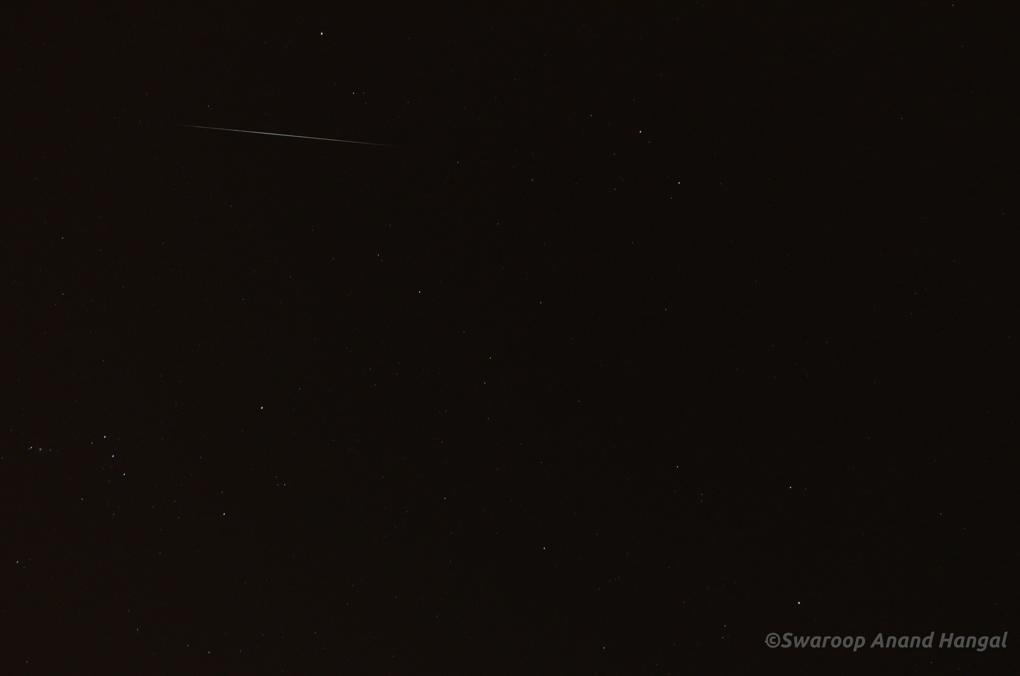 2012 Geminid Meteor over India