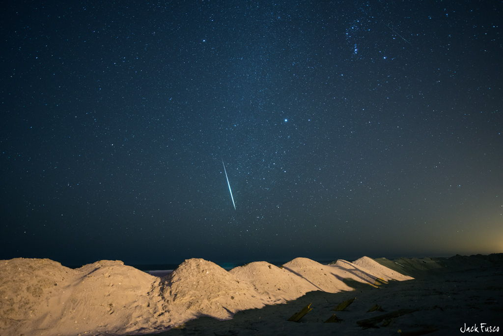 2012 Geminid Meteor Over Ocean City, NJ