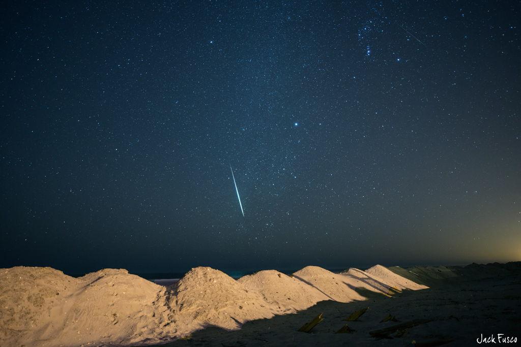 2012 Geminid Meteor Over Ocean City, NJ