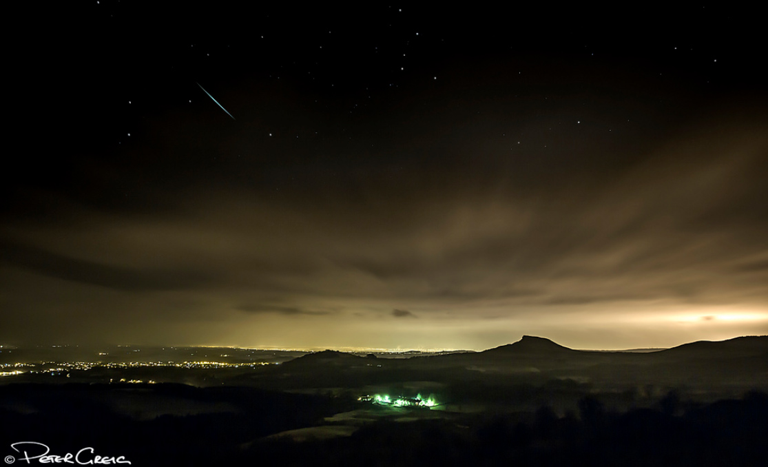 2012 Geminid Meteor Over North Yorkshire, UK.
