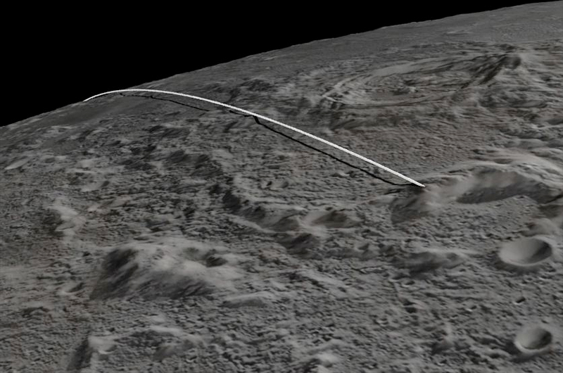 Twin Moon Probes Crash into Lunar Mountain