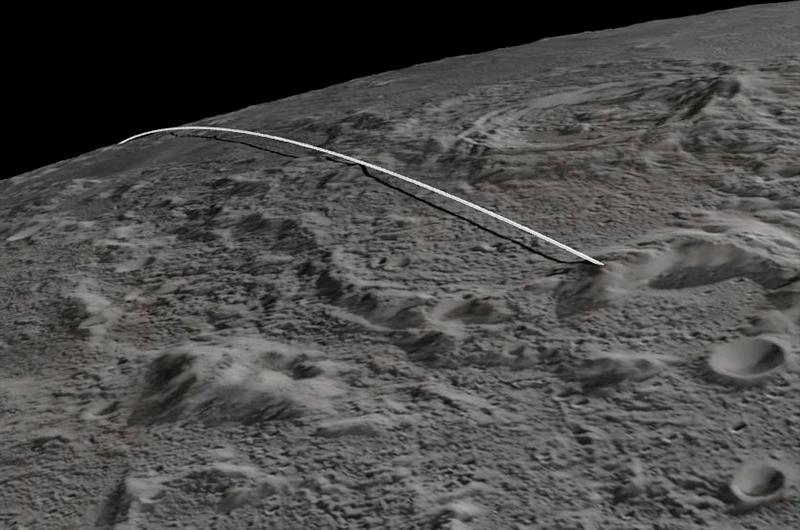 Twin Moon Probes Crash into Lunar Mountain