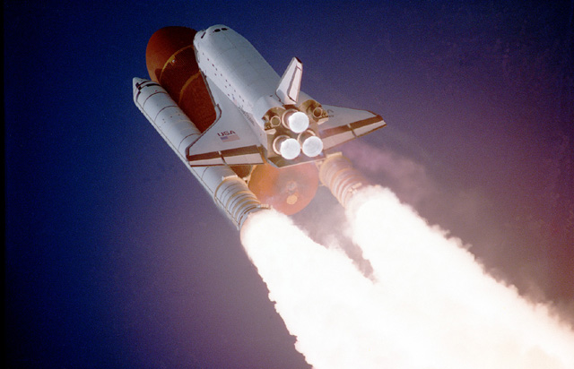 Space History Photo: STS-27, Orbiter Atlantis, Liftoff
