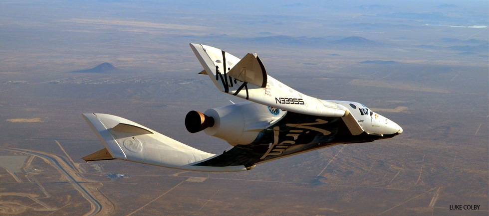 SpaceShipTwo: On a Flight Path to Space Tourism