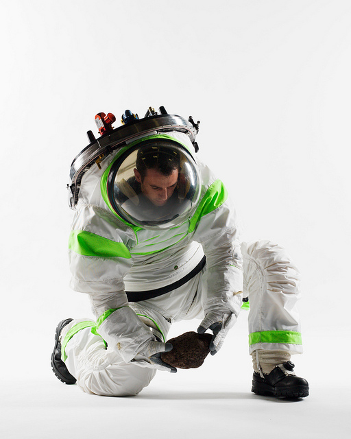 Z-1 Spacesuit Prototype Flexibility Test