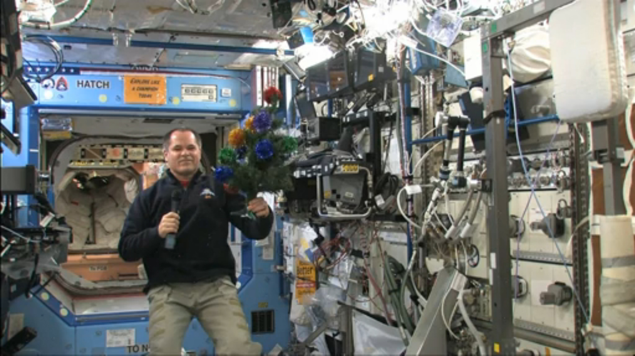 Space Christmas for Expedition 34