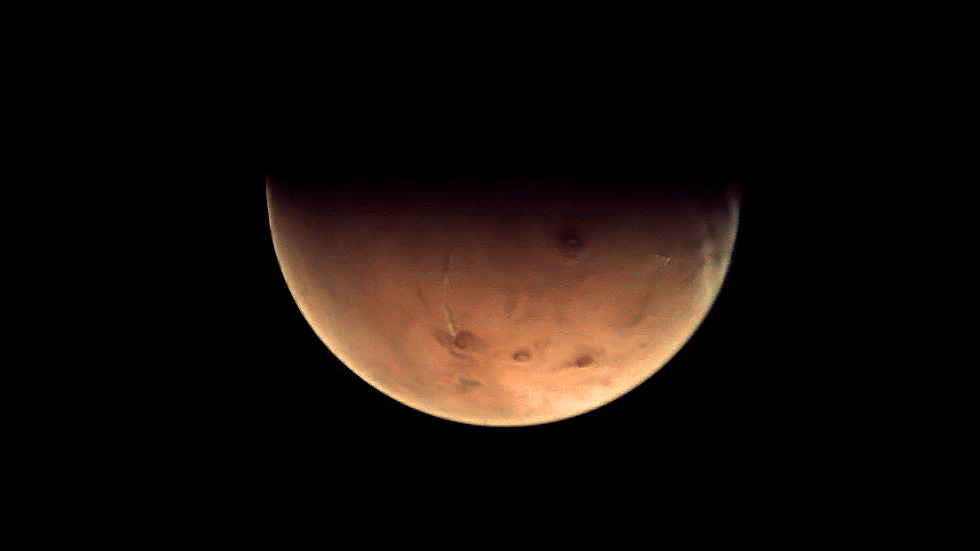 New Mars Photo Christens Deep-Space Antenna