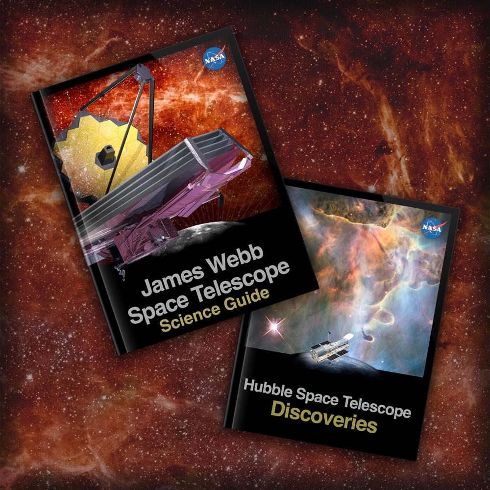 NASA Unveils E-books on Hubble, Webb Space Telescopes