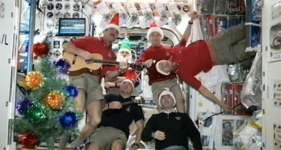 Merry Christmas From Space: Expedition 34