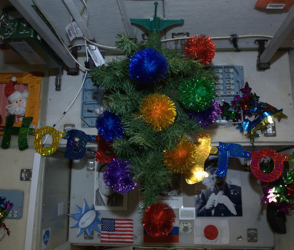 Christmas in Space 2012: The Tree