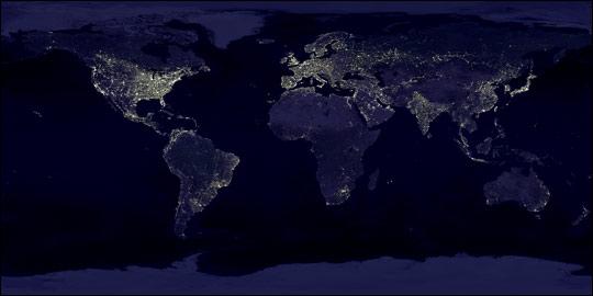Earth's City Lights 1994