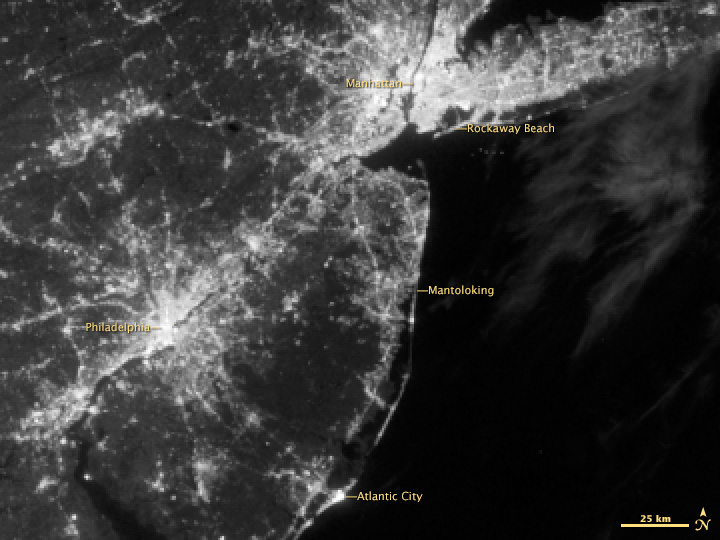 Before the Blackout in New Jersey and New York