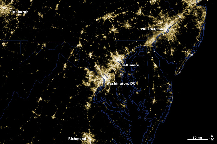 Before Extensive Power Outages in Washington, DC Area