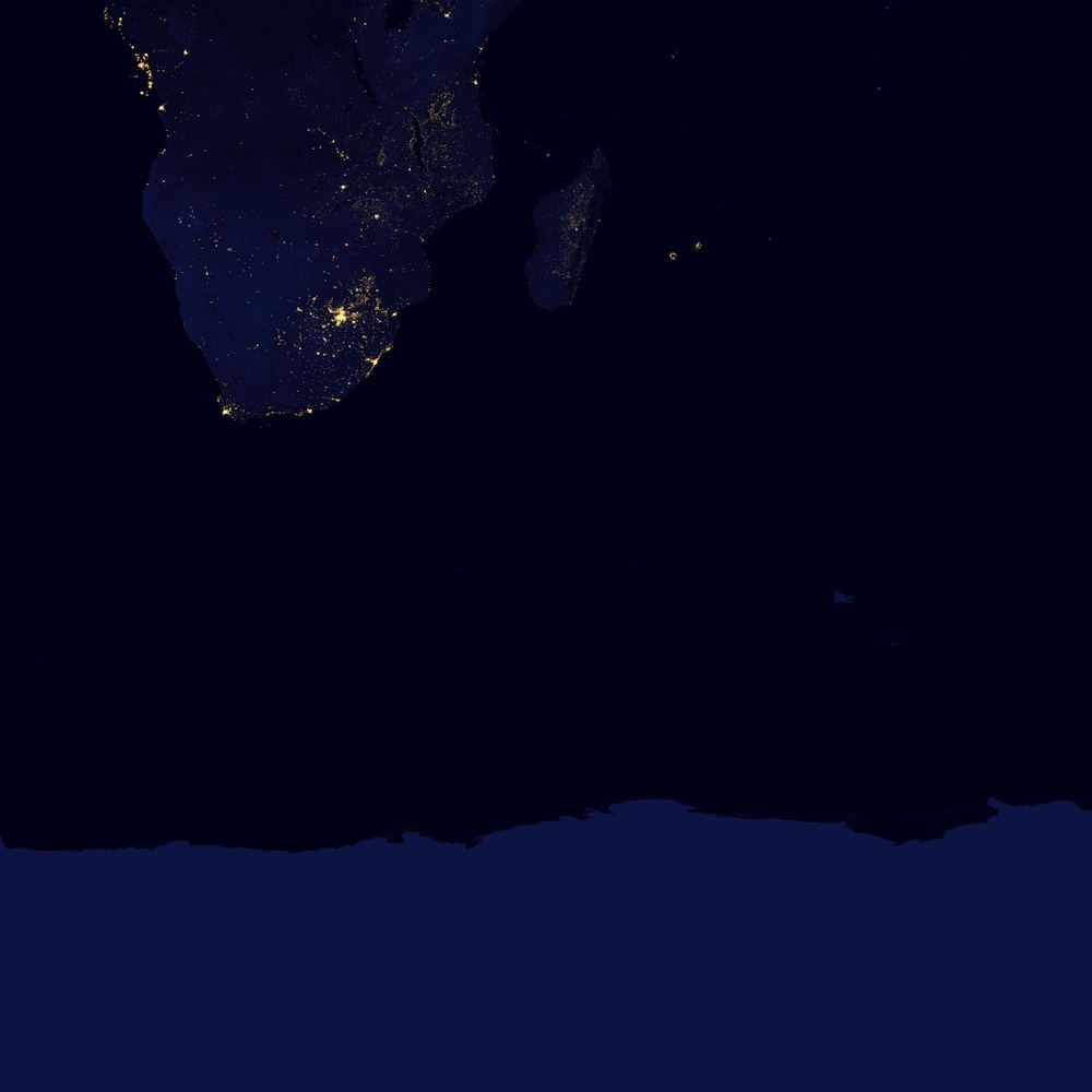 Earth at Night 2012 - Africa