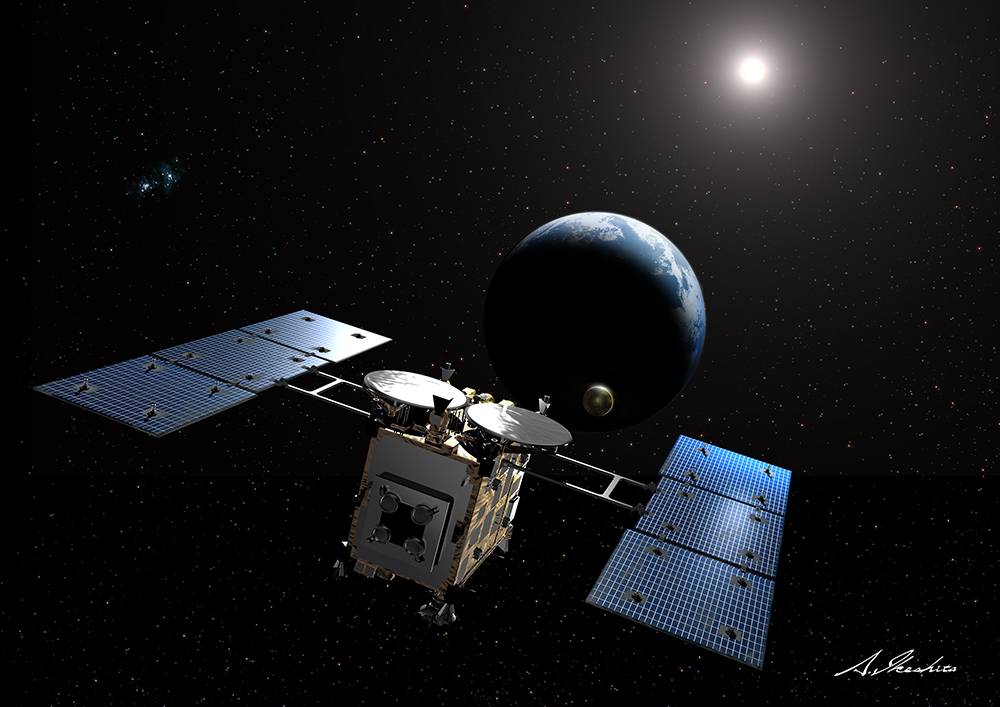 Hayabusa2 Releases Asteroid Sample Capsule
