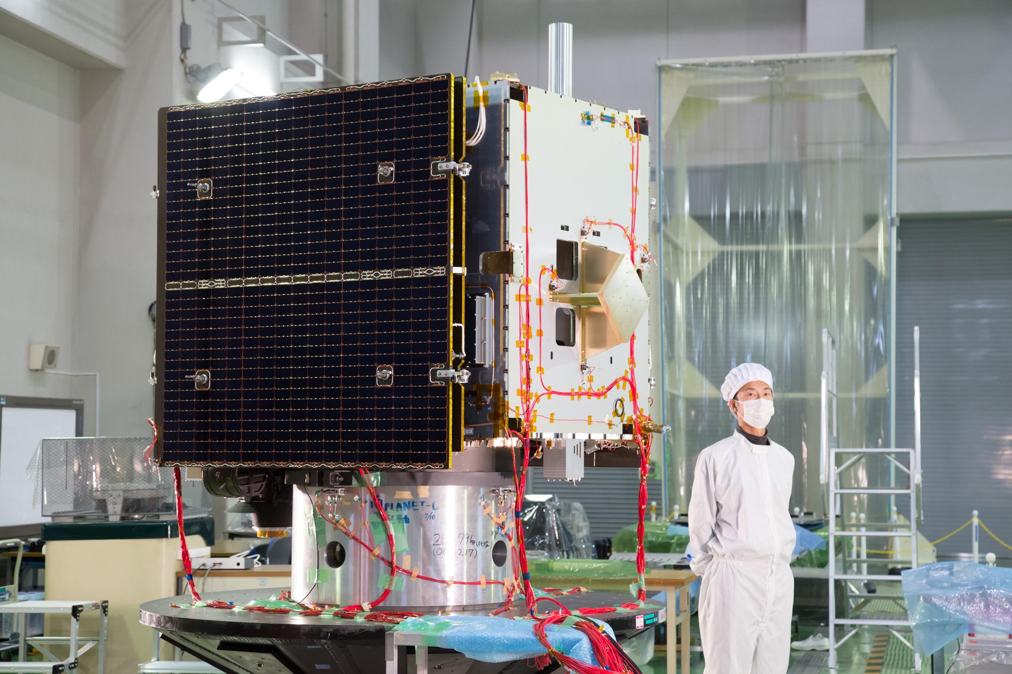 Japan's Hayabusa2 Spacecraft Revealed