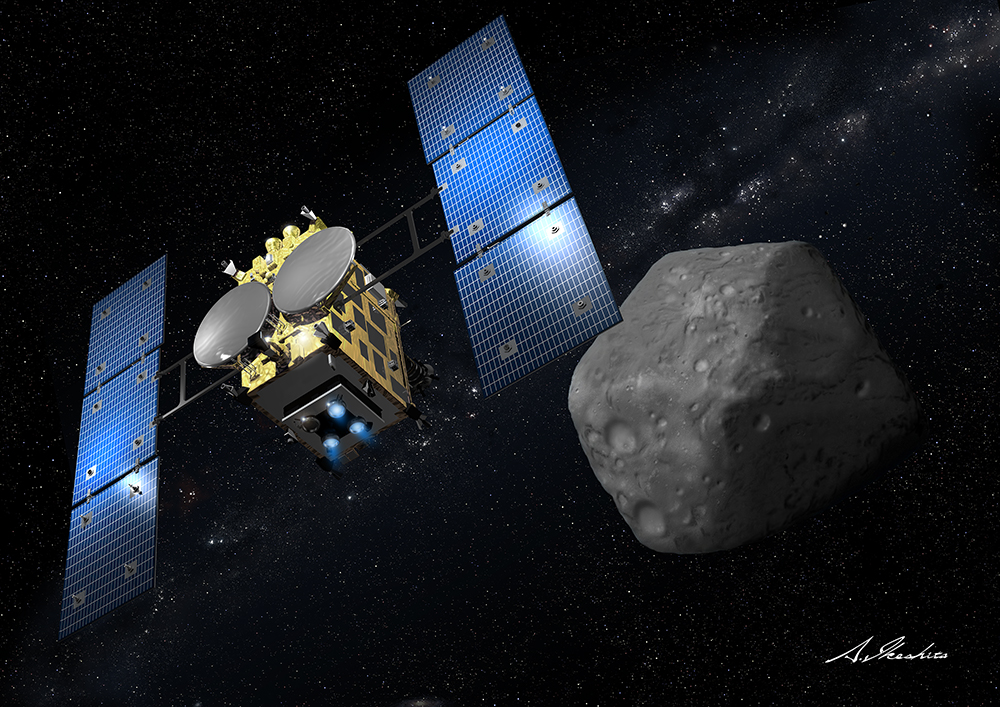 Japan's Hayabusa2 Asteroid-Sampling Mission (Photos)