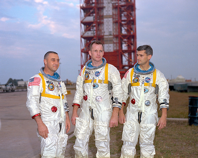 Space History Photo: Apollo 1 Astronauts