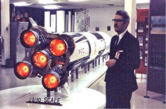 Jesco von Puttkamer, Von Braun Rocket Team Member, Dies at 79