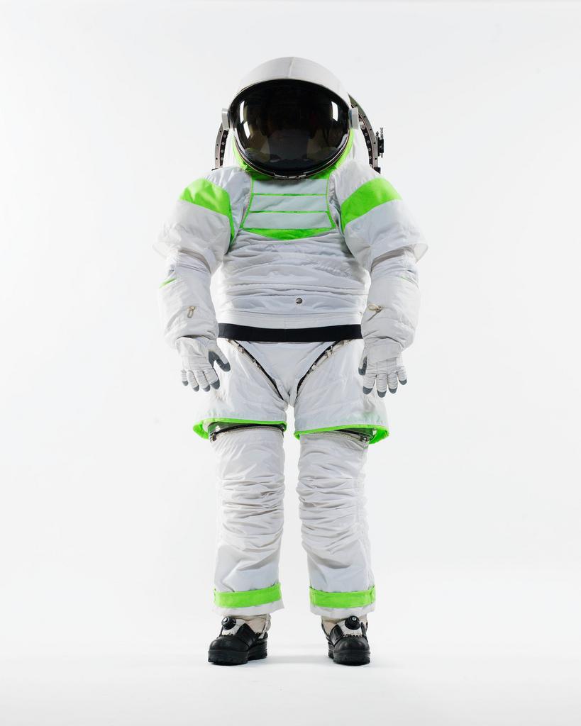 Z-1 Spacesuit Prototype Standing