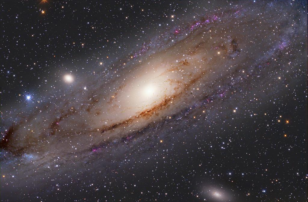 A Trio of Galaxies