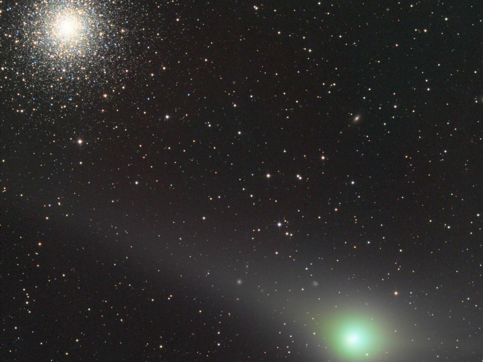 Comet Meets Cluster