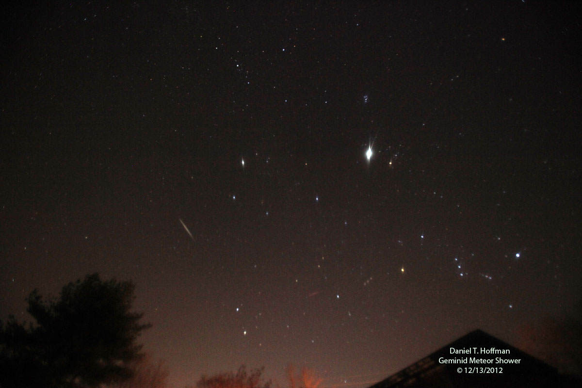 Geminids Over Delaware