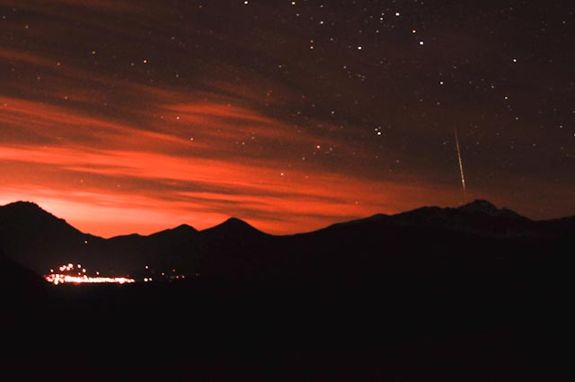 Geminids in Colorado