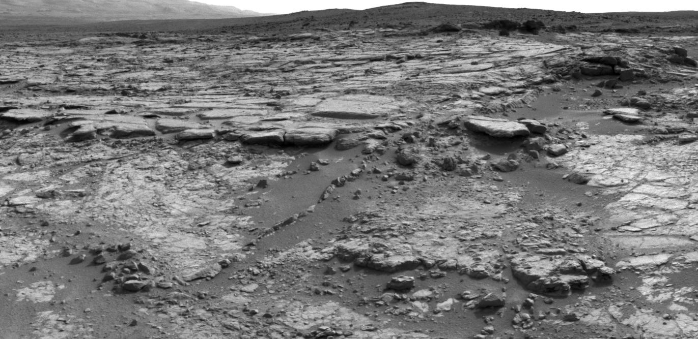 Snake River Rock on Mars by Curiosity